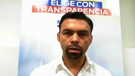Presidente del Consejo Nacional Electoral, Juan Pablo Pozo