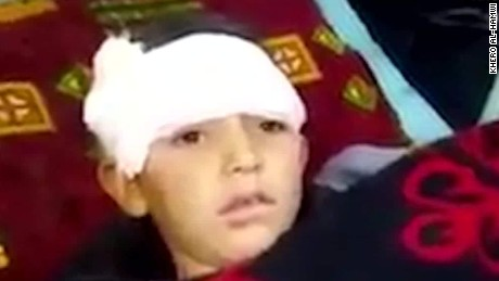 syrian boy caught in heavy bombing video wedeman pkg_00004629.jpg