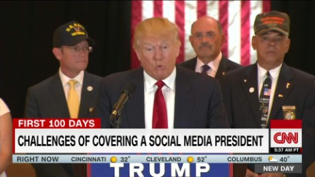 "Trump: Press is ""enemy of the American people"""