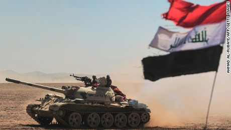 Iraqi forces rout ISIS from village near Mosul