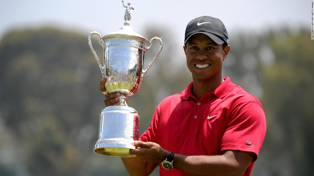 14 major wins (Masters 1997, 2001, 2002, 2005; US Open 2000, 2002, 2008; British Open 2000, 2005, 2006; PGA Championship 1999, 2000, 2006, 2007).