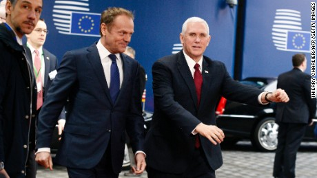 VP reassures EU of US commitment to NATO
