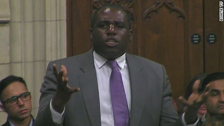 british parliament debates trump state visit david lammy daughter comments_00001006.jpg