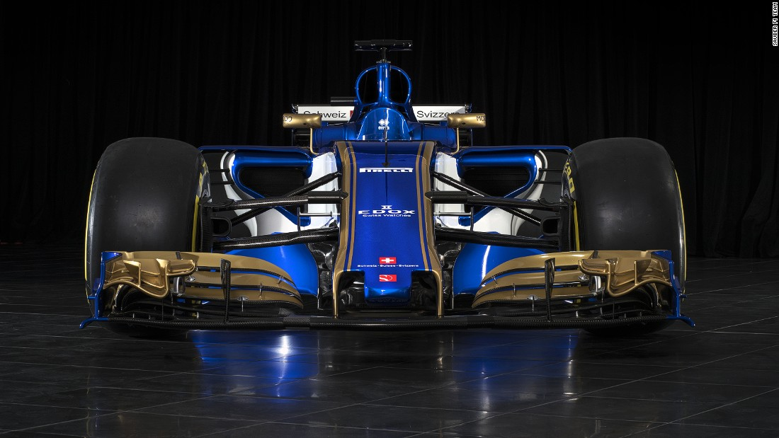 Sauber was the first team to reveal its new-look car ahead of the 2017 world championship.