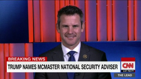 Kinzinger says McMaster will challenge status quo