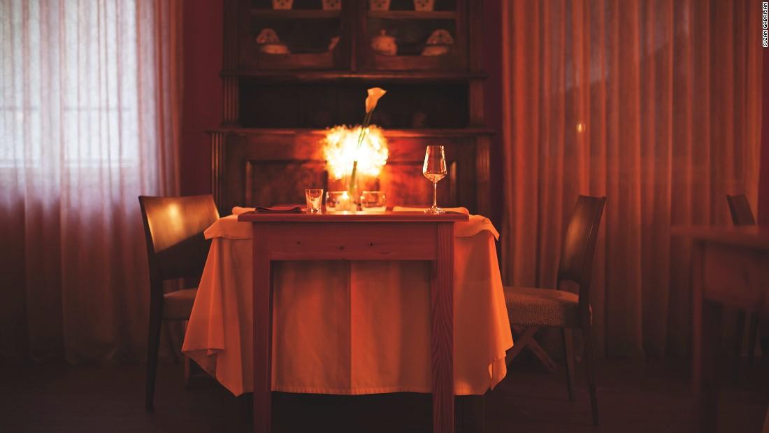Hiša Franko Ligt In een afgelegen deel Van het westen van Slovenië, is nu de Meest Bekende restaurant in Slovenië.