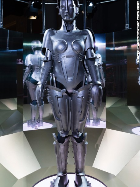 Model of Maria in the Dream section of the Robots exhibition -¬ Plastiques Photography, courtesy of the Science Museum.jpg