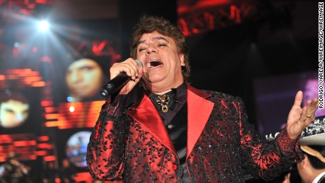 LAS VEGAS - NOVEMBER 04:  Honoree Juan Gabriel performs onstage at the 2009 Person Of The Year Honoring Juan Gabriel at Mandalay Bay Events Center on November 4, 2009 in Las Vegas, Nevada.  (Photo by Rodrigo Varela/WireImage)