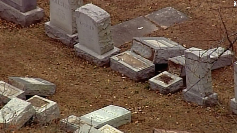 Jewish cemetery vandalized in Missouri