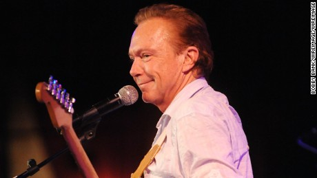 NEW YORK, NY - JANUARY 10:  David Cassidy performs at BB King on January 10, 2015 in New York City.  (Photo by Bobby Bank/WireImage)