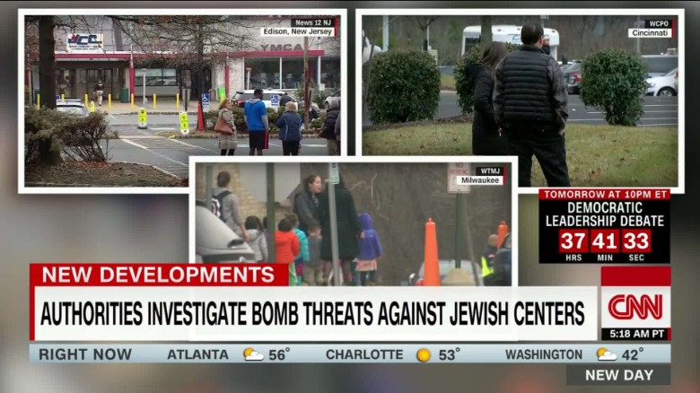 Fired reporter accused of threatening some Jewish centers, cyber-stalking