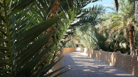 The Al Ain Oasis is now a protected UNESCO site.