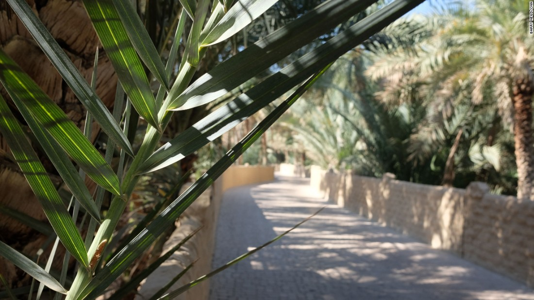 <strong>Al Ain Oasis: </strong>Abu Dhabi's second city Al Ain makes for a refreshing day trip away from the hustle and humidity of the UAE's capital. At its heart is a cool, green oasis.