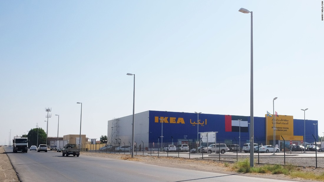 <strong>Ikea for camels: </strong>On the outskirts of Al Ain there's an Ikea. More interesting is what's on sale behind it.