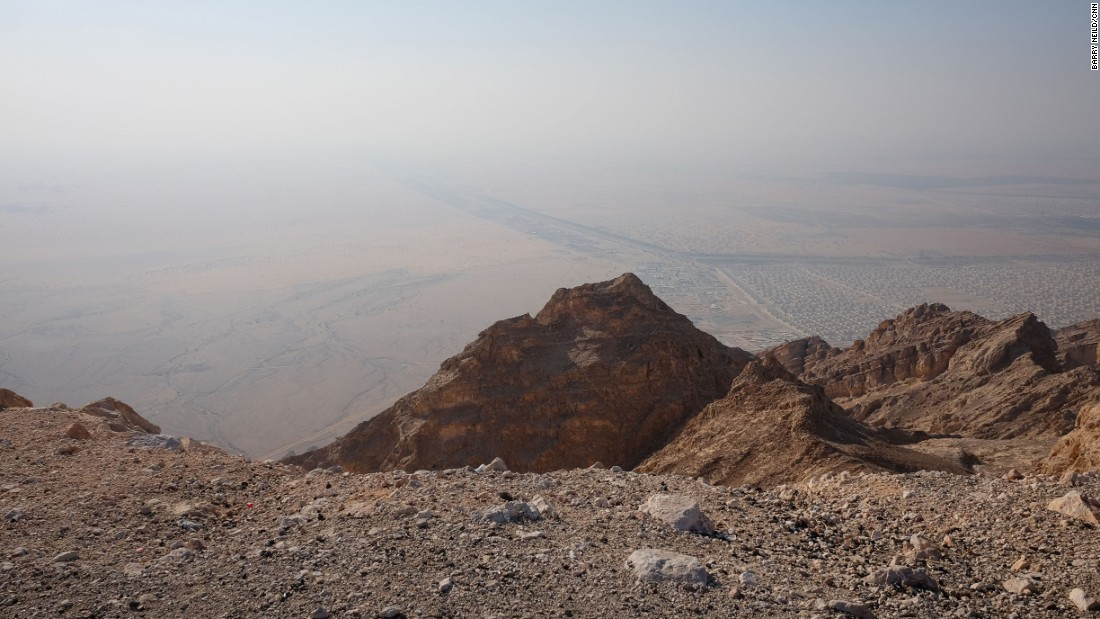 <strong>See for miles: </strong>The summit of Jebel Hafeet affords incredible views over the flat deserts of Abu Dhabi and into neighboring Oman.