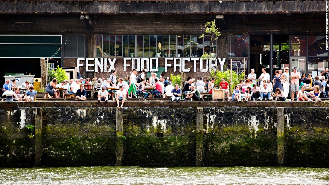 <strong>Urban regeneration: </strong>The Fenix Food Factory is a former warehouse now used as a meeting place and market for locally produced food and drink.