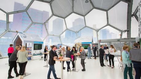 Buoyant: Rotterdam's floating pavilion