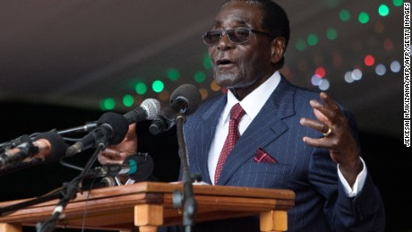 Zimbabwe's Mugabe turns 93; lauds Trump's nationalist stance