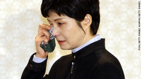Former North Korean spy Kim Hyon-hui now lives in the South.