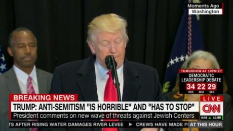 "exp President Trump: Anti-Semitism ""has to stop"" _00002001.jpg"