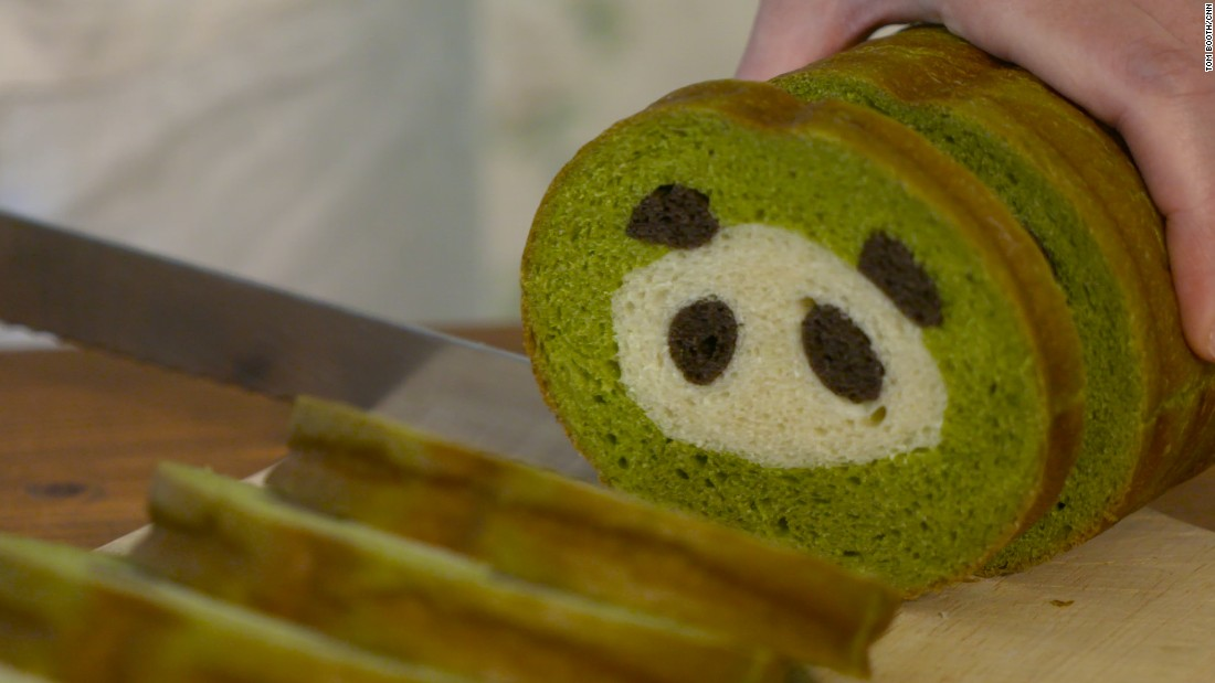 Her first piece of bread art? A panda loaf, which she baked roughly six years ago while pregnant with her son.