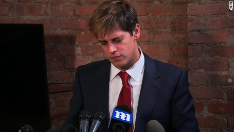 milo yiannapoulos press conference resignation