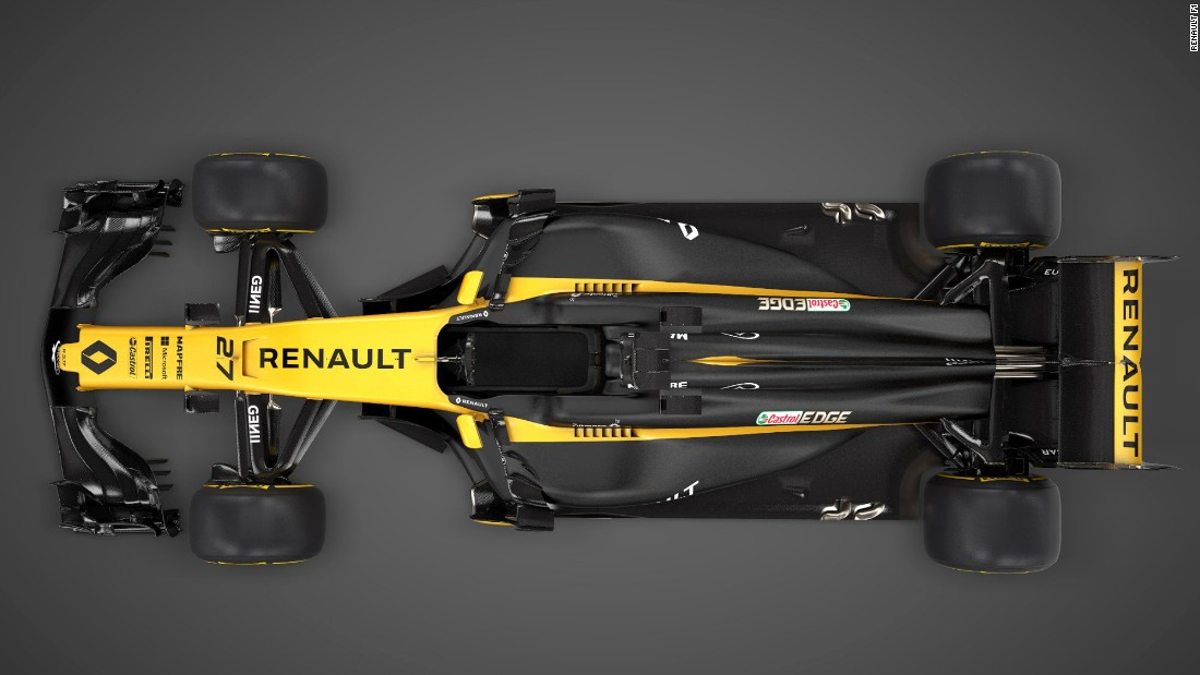 "The RS17 is the first to be completely designed by the French team since it returned as a works squad, having taken over Lotus last year. ""It's a beautiful car,"" Renault Sport Racing president Jerome Stoll said. ""We want to take a definite, tangible step forward in performance and results. Fifth position in the constructors' championship is our goal."""