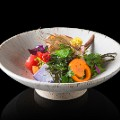 Asia 50 best restaurants 2017 11 Den Garden Salada  comprising 20 different vegetables