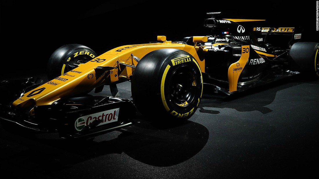 Renault was the second team to launch its 2017 car, on February 21.