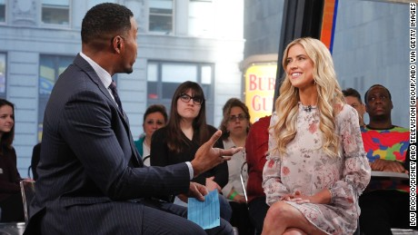 "Christina El Moussa discussed her split from husband Tarek on  ""Good Morning America""  on Tuesday, February 21."