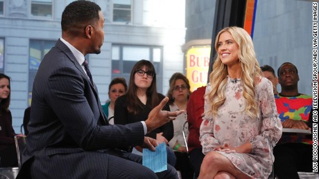 """Christina El Moussa discussed her split from husband Tarek on  """"Good Morning America""""  on Tuesday, February 21."""
