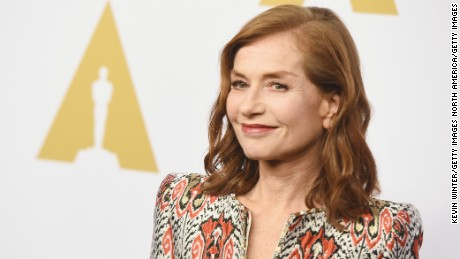 BEVERLY HILLS, CA - FEBRUARY 06:  Actress Isabelle Huppert attends the 89th Annual Academy Awards Nominee Luncheon at The Beverly Hilton Hotel on February 6, 2017 in Beverly Hills, California.  (Photo by Kevin Winter/Getty Images)