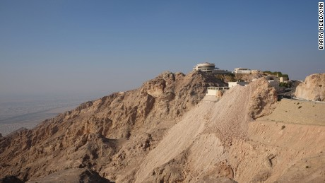 View from the top: Jebel Hafeet summit.