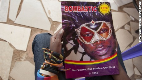Nabagesera came up with the idea for Bombastic in 2013 and when she asked for stories on Facebook, she was flooded with over 500 contributions.