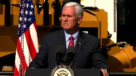 Pence denounces anti-Semitic vandalism
