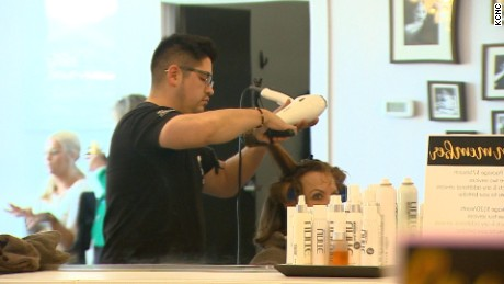 Hairstylists could become enlisted to help combat domestic abuse.