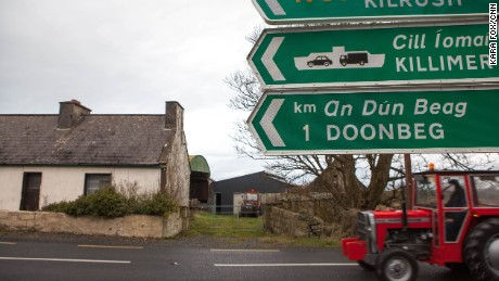 "Doonbeg town, population 765, is a tight-knit rural community which won Ireland's ""Pride of Place"" award in 2015 -- a national honor demonstrating a village with strong community ties."