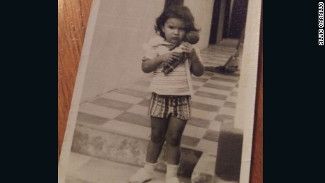 Berta Cáceres, pictured as a toddler in Honduras. Her nephew says she learned from a young age to care about less fortunate people.