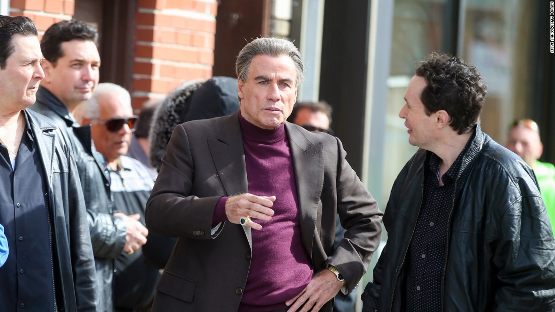 John Travolta Transforms Into John Gotti