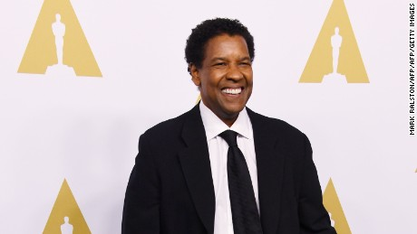 Actor/filmmaker Denzel Washington arrives for the 89th Annual Academy Awards Nominee Luncheon at The Beverly Hilton Hotel in Beverly Hills, California on February 6, 2017. / AFP / Mark RALSTON        (Photo credit should read MARK RALSTON/AFP/Getty Images)