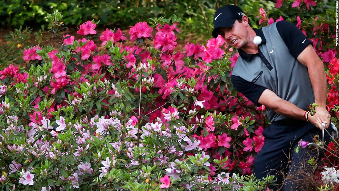Many of those memorable Masters moments have been framed by the dazzling display the azaleas provide. Rory McIlroy's capitulation in the 2011 tournament, when his four-shot lead on the final day evaporated in the space of three holes, led him deep into azalea territory.