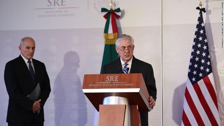 cnneebrk sot rex tillerson en mexico conferencia de prensa reunion con videgaray_00010607