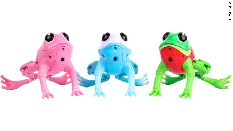 Moose Toys is recalling Little Live Pets Lil Frogs sold since August.