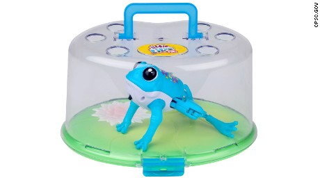 Moose Toys Lil Frog Lily Pads are being recalled.