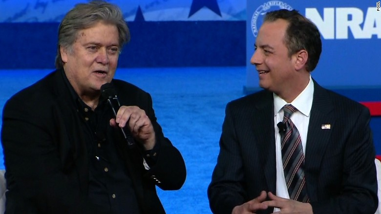 Steve Bannon makes rare public remarks at CPAC