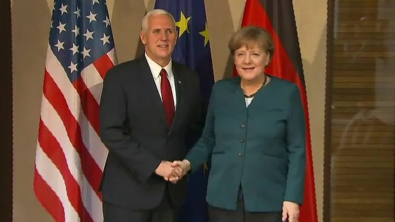 Trump, Merkel meeting postponed due to weather