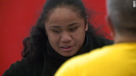 Blind 14-year-old female wrestler headed to state tournament.
