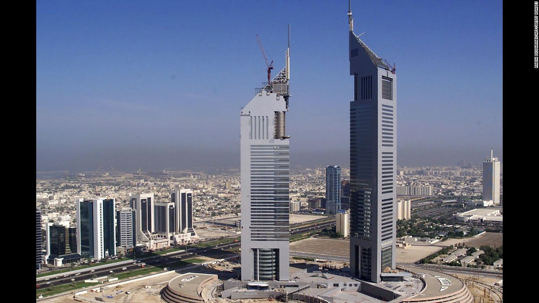 The massive construction project Sheikh Rashid started in the 1960s was taken further by his son Maktoum bin Rashid Al Maktoum throughout the 1990s and the 2000s. Among the many building projects, Jumeirah Emirates Hotel and the Emirates Office Tower were completed in 2000.