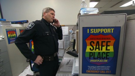 Officer creates shelter for hate crime victims