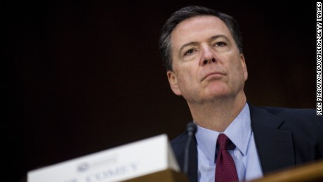 James Comey, director of the Federal Bureau of Investigation, listens to testimony during the Senate Intelligence Committee hearing in Washington, D.C. on January 10, 2017.